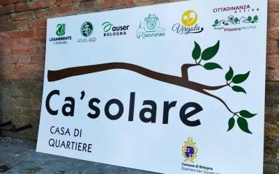 """Nasce la Casa di Quartiere il """"Ca'solare"""""""